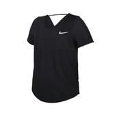 NIKE 女短袖T恤(Dri-FIT 慢跑 路跑 訓練 透氣 健身 運動 網眼 免運 ≡排汗專家≡