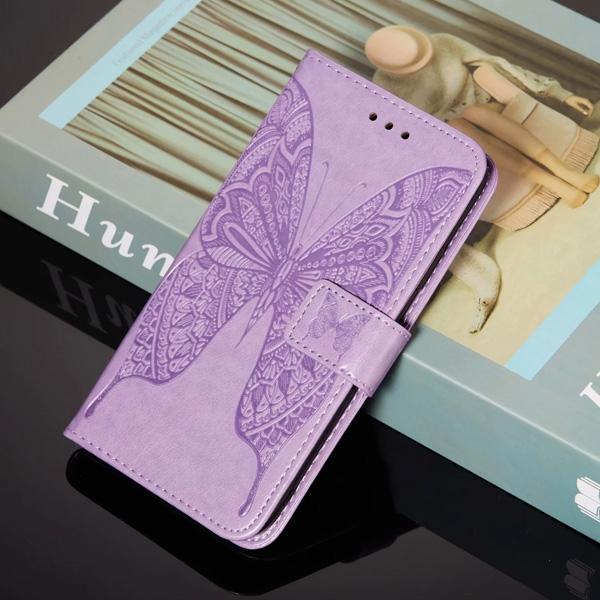 蘋果 iPhone12 Pro Max 12Mini 12Pro  iPhone11 蝴蝶壓紋皮套 手機皮套 掀蓋式 插卡 支架 保護套