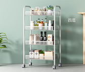 雜物收納架廚房浴室置物架多層家用可移動【奇趣小屋】