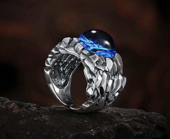 男士泰銀戒指送男友