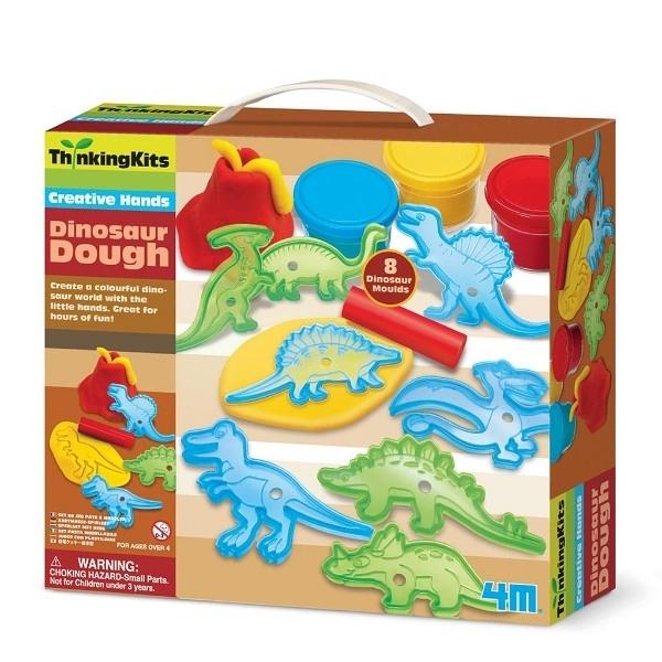 【4M】00-04716 學齡前啟蒙 恐龍黏土工廠 Dinosaur Magnets