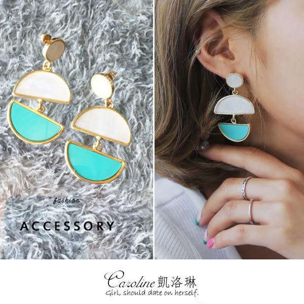 《Caroline》★韓國官網熱賣 優雅浪漫風格時尚流行耳環68836