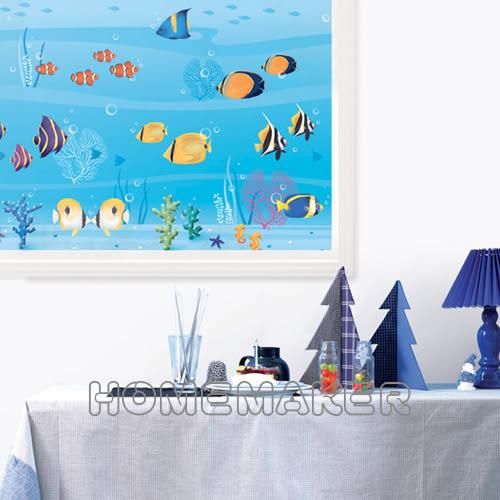 韓國彩繪自黏窗貼_HN-GS08A