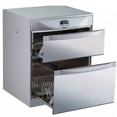 (全省安裝)林內落地式雙抽屜50公分烘碗機RKD-5053(P)