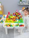 積木寶寶多功能積木桌子男孩子3女孩6周歲兒童益智拼裝玩具大顆粒智力LX 小天使