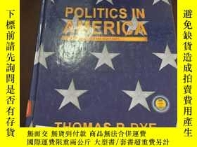 二手書博民逛書店Politics罕見in America (fifth edit