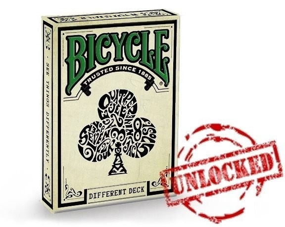 【USPCC 撲克】Bicycle Different deck green back playing cards