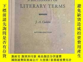 二手書博民逛書店A罕見DICTIONGARY OF LITERARY TERMS