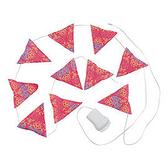 【速捷戶外露營】美國【Coleman】CM-22289_粉紅色 LED串燈聖誕燈飾裝飾燈