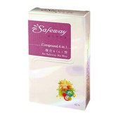 safeway 數位衛生套 - 複合型 4合1 12入【屈臣氏】