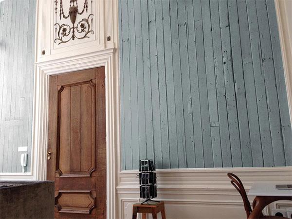 灰色木紋 仿真(fake) loft風格 工業風 客廳壁紙 【荷蘭進口牆紙】【 48.7cm×9m/卷】PHE-12