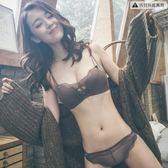 小胸罩無鋼圈文胸套裝蕾絲性感內衣女聚攏調整型【奈良優品】