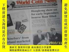 二手書博民逛書店World罕見Coin News(Vol.22,No.18)(A