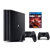 SONY PS4 Pro 1TB+NBA 2K20 中文一般版【再送無線控制器 黑】