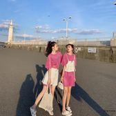 套裝女夏韓版時尚T恤裙兩件套裝裙【時尚大衣櫥】