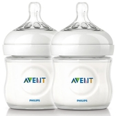 Philips Avent新安怡 親乳感PP防脹氣奶瓶125ml(雙入)(E65A099002) 323元