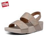 新降66折【FitFlop】MINA IRIDESCENT BACK-STRAP SANDALS 金屬光澤可調式後帶涼鞋-女(復古金)