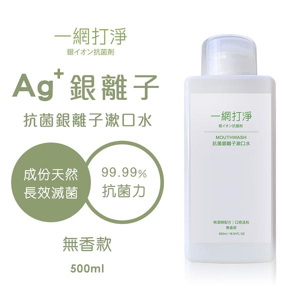 一網打淨 抗菌銀離子漱口水 AG Clean Mouthwash 500ml(無香款)