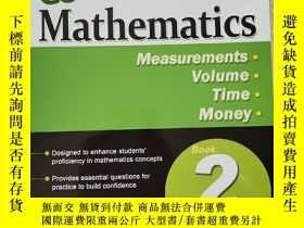 二手書博民逛書店Conquer罕見Mathematics Measurents Volume Time Money(攻克數學二年級