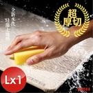 【MBM】台灣製12mm水洗式珪藻土地墊-尺寸:L-1入組