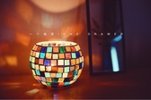 蠟燭材料包「一個抽屜 / One Drawer」摩洛哥風情馬賽克燭臺蠟燭diy材料包-凡屋