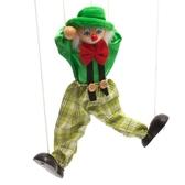 木制拉線玩偶消防員拉線人提線人偶