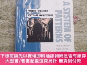 二手書博民逛書店Pattern-Oriented罕見Software Architecture Volume 1: A Syste