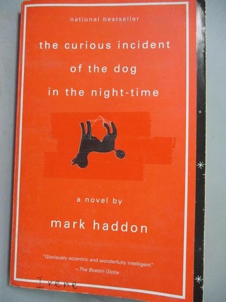 【書寶二手書T4/原文小說_CEW】Curious Incident of the Dog 深夜小狗神秘習題_MARK
