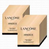 LANCOME蘭蔻 絕對完美黃金玫瑰修護乳霜1mlx48(贈淨化凝膠15mlx2)