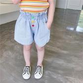 韓國女童短褲夏2歲夏季褲子外穿薄款4嬰兒童牛仔褲洋氣3寶寶時髦夏裝5【居享優品】