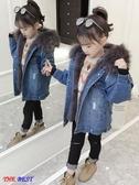 女童外套 秋冬裝 牛仔上衣 童裝