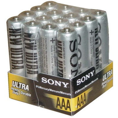 SONY 4號環保電池[16入]