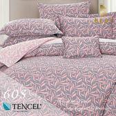 60支天絲床罩八件組 雙人5x6.2尺 未知彼岸 100%頂級天絲 萊賽爾 附正天絲吊牌 BEST寢飾