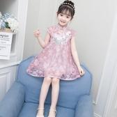 全館83折 女童夏裝2018新款洋氣兒童旗袍連身裙小女孩夏季時髦公主裙子5歲