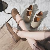 娃娃鞋圓頭洛麗塔單鞋女夏學生文藝日繫瑪麗珍原宿軟妹小皮鞋女現貨清倉6-29