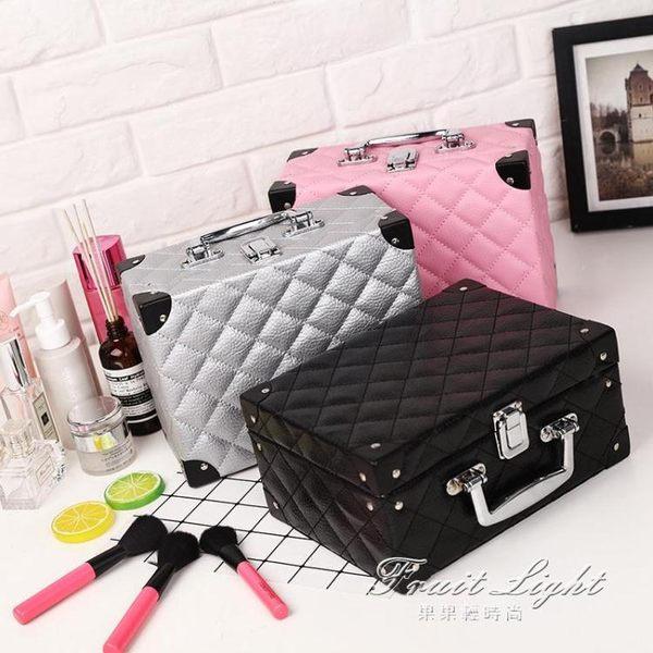 化妝箱 化妝包小號韓版大容量多功能簡約便攜手提專業3ce化妝箱大號雙層 1995生活雜貨