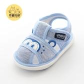 嬰兒鞋子軟底男寶寶鞋女0一1歲步前鞋春嬰兒鞋布涼鞋夏季0-6個月