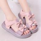 2020新款時尚女童涼鞋夏季韓版小女孩軟底公主鞋兒童防滑沙灘鞋潮