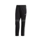 adidas 長褲 Adicolor Pants 黑 白 女款 運動休閒 【ACS】 FL0047