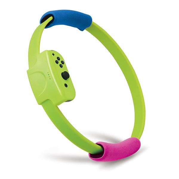 [哈GAME族]免運費 可刷卡 嘉樂 Switch迷你版健身環+腿袋套裝 Ring-con 健身環大冒險