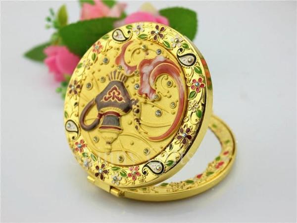 金屬化妝鏡 阿拉丁神燈款式化妝鏡 生日禮物送同學