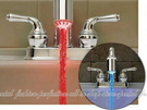 【DY260】水力發電LED變色水龍頭 唯美視覺 溫控變色 隨水溫變色 水力發電燈★EZGO商城★