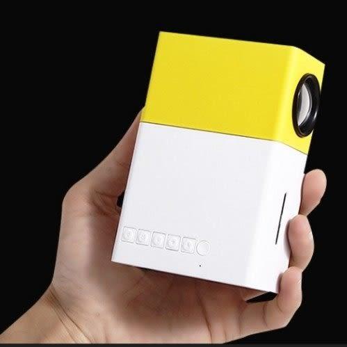 【原廠正品專賣店】1111活動價 掌上型 超微型大螢幕投影機 60吋影像/手機通用款/行動電源供電