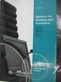 【書寶二手書T3/大學商學_DPJ】Statistics for Business & Economics_Anderson,etc