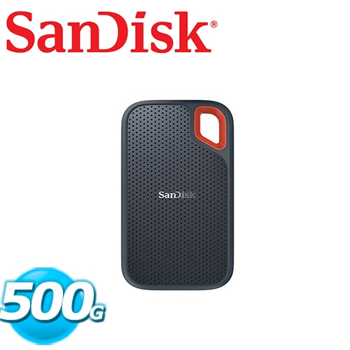 SanDisk Extreme Portable E60 500GB 行動固態硬碟
