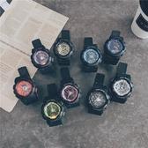 一件8折免運 手錶男電子錶初中學生潮男女時尚潮流青少年防水夜光運動男士正韓