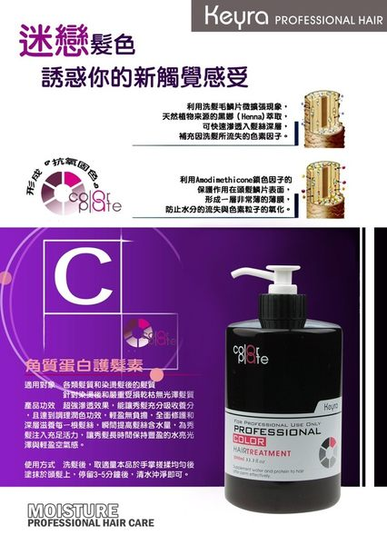 Keyra 奇拉 奇拉角質蛋白護髮素 1000ml  沙龍級 【RH shop】