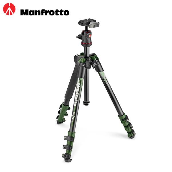 ◎相機專家◎ 送拭鏡紙 Manfrotto New Befree 腳架套組 MKBFRA4-BH 綠色 公司貨