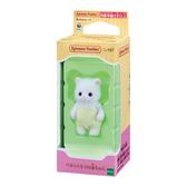 日本 EPOCH森林家族 波斯貓嬰兒 白 EP14055 原廠公司貨
