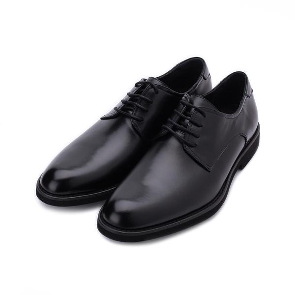Meurieio Belliei 真皮素面紳士皮鞋 黑 2928-15A 男鞋 鞋全家福